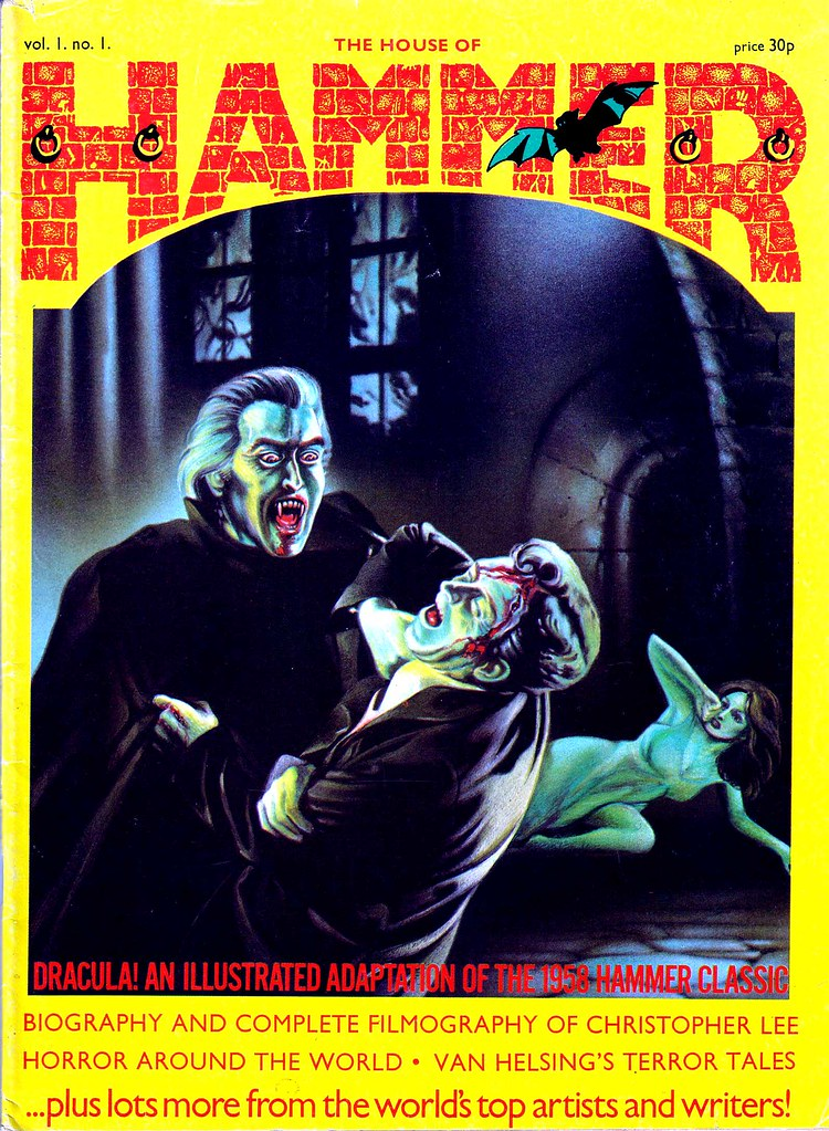 House Of Hammer Magazine - Issue 1 (1976)