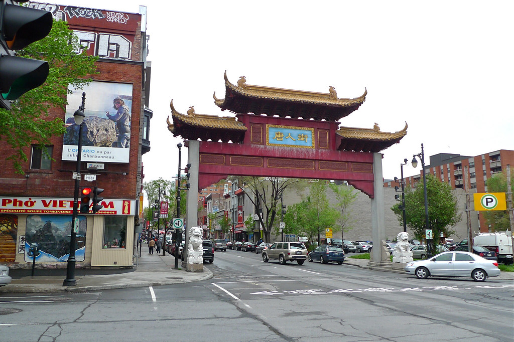 Copyright Photo: Montreal Chinatown South Gate by Montreal Photo Daily, on Flickr