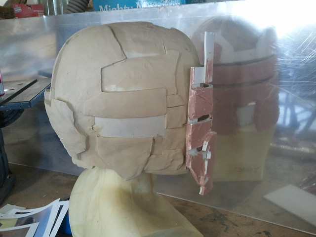 More Isaac Clarke Sculpt Progress