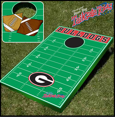 Georgia Bean Bag Toss Game