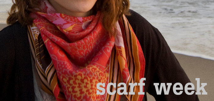 scarf week header dash dot dotty dashdotdotty