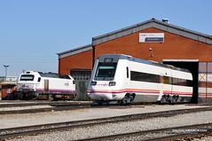 Deposito Charro (trenSalamanca) Tags: salamanca ferrocarril renfe 334 regionales 598