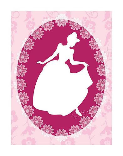Cinderella Cameo Poster (2)