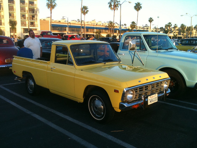 ford pickup courier