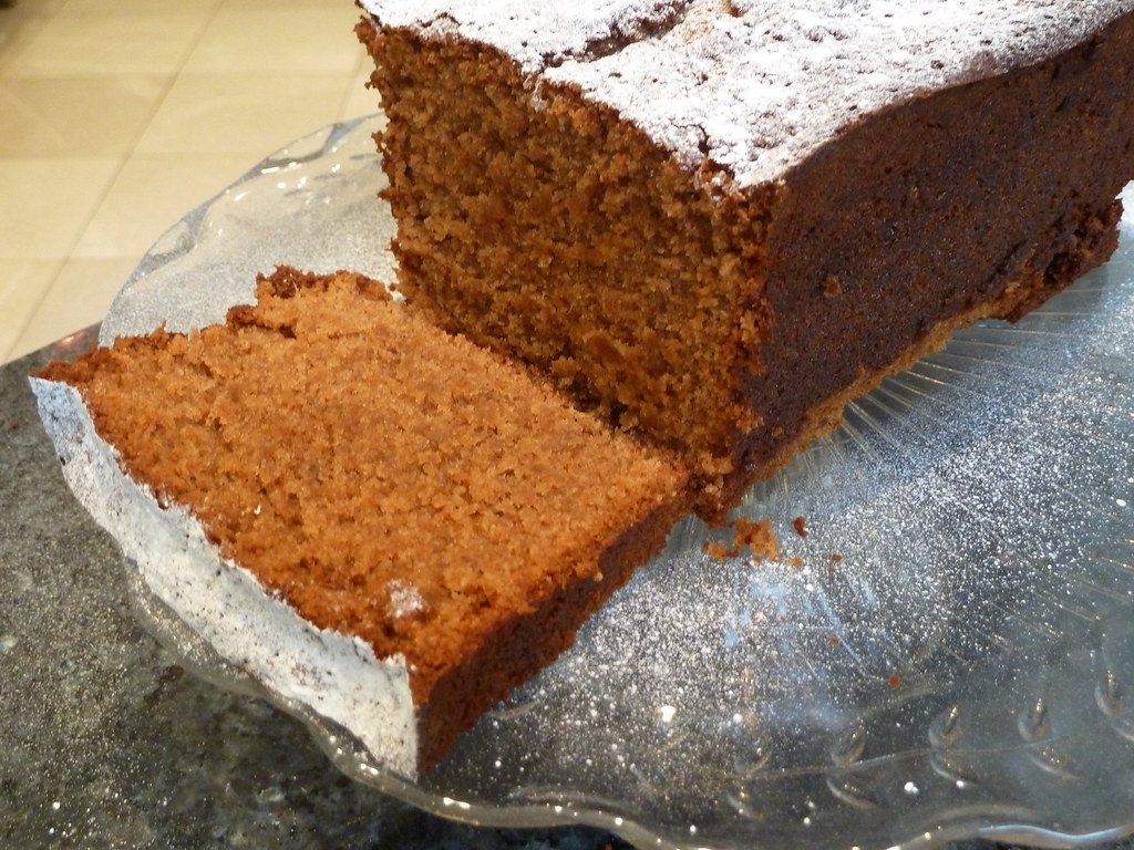 Nice Cake Recipes Uk: How To Make Cakes: Ginger Loaf Cake