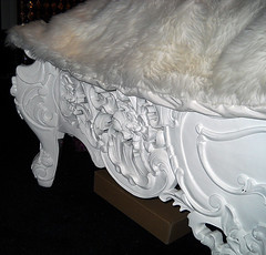 "4092-FTBD BAROQUE BEDFRAME WHITE LACQUER • <a style=""font-size:0.8em;"" href=""http://www.flickr.com/photos/43749930@N04/5805710898/"" target=""_blank"">View on Flickr</a>"