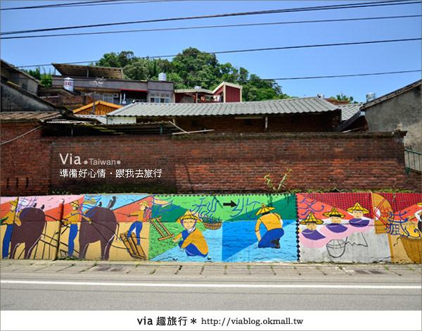 【彩繪客家村】驚豔,彩繪村!新竹竹東鎮軟橋社區尋彩趣2