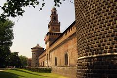 Entrance to Milan's Sforza Castle