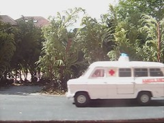 Die-cast Traffic Highway Diorama Video 1 of 2 (Kelvin64) Tags: video highway traffic diorama diecast