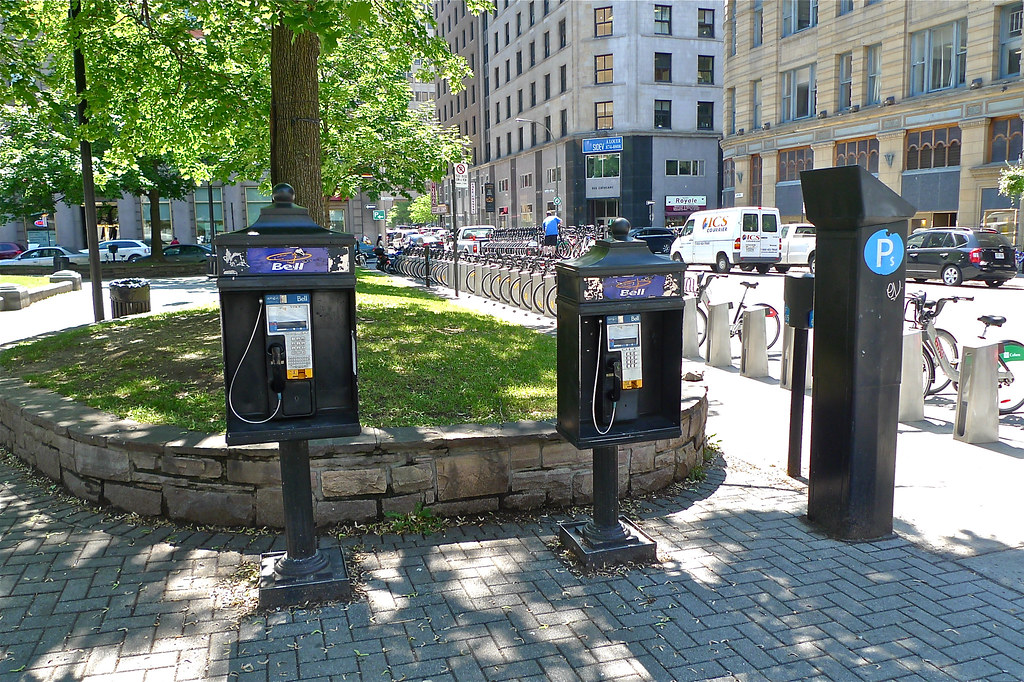 Copyright Photo: Montreal Phillips Square - Pay Phones by Montreal Photo Daily, on Flickr