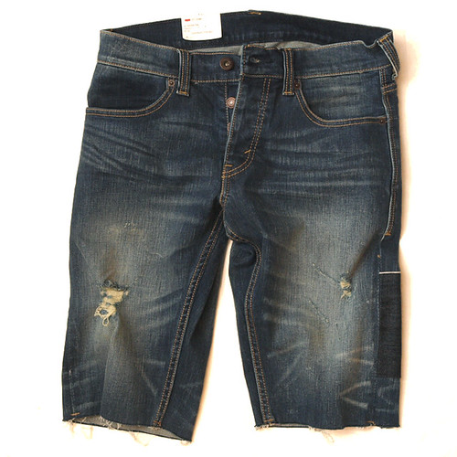 Levi's / 511 Skinny Cut-Off Damaged Short