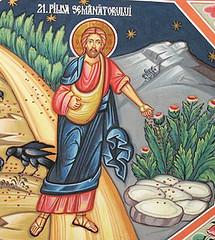 Icono, Cristo sembrador