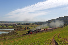 41 1144 + 44 2546 (maurizio messa) Tags: railroad germany thringen railway trains steam bahn mau germania ferrovia treni dampf plandampf vapore nikond90 br41 werrabahn 411144 teamlorie