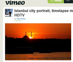 Istanbul Timelapse Video