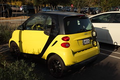 wind up (1600 Squirrels) Tags: 1600squirrels photo 5dii lenstagged canon24105f4 thanksgiving2015 smart car bikerack huntingtonlibrary sanmarino sangabrielvalley losangelescounty greaterlosangeles socal california usa