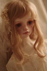 BRIE FACEUP (nymphelierre) Tags: bjd doll abjd vintage blonde nimphaerytales quimera dollstown