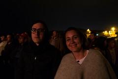 Sebastion and Erika at a Jorge Velosa concert