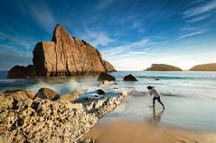 Seascape () Tags: sky lesnafi spain leica leicas leicas2 medium format 24mm35 35 24mm s2 elsa del castro urros de liencres