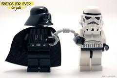 friends (legolic) Tags: trooper toy starwars lego stormtrooper minifig darthvader plastictoy minifigure darkvador legotoy legofigure