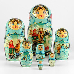 Winter Fun in Russian Village (The Russian Store) Tags: matrioshka matryoshka russiannestingdolls  stackingdoll  russianstore  russiangifts  russiancollectibledolls shoprussian