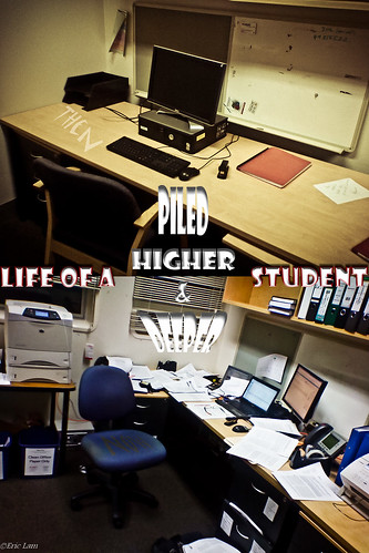 Then and Now: Life of a PhD Student