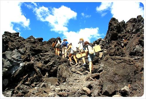 Cerro Negro rocks