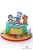 Happy Birthday Lucas! (Little Cottage Cupcakes) Tags: birthday sea cake underwater rollingpin peso octonauts tunip kwazii littlecottagecupcakes captainbarnacles kelpcakes