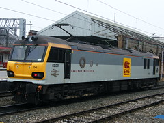 92 041 (bjm2000uk) Tags: crewe ews vaughanwilliams class92 92041