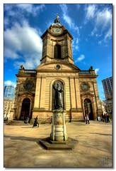St Philip's Cathedral, Birmingham (rjt208) Tags: city people church town birmingham worship cathedral religion westmidlands midlands stphilip stphilips saintphilip canon400d rjt208