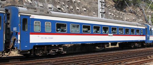 China Railways carriage RZ25T 110841