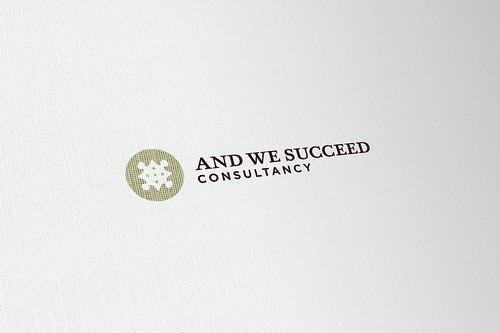 AWS Colour Logo on Paper
