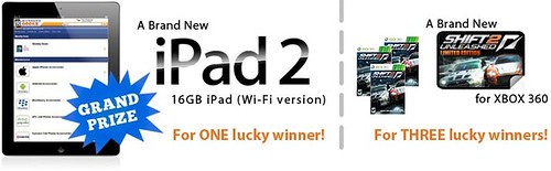 ? FREE Ipad! New iPad 2 Announcement and Overview!  ? get a FREE iPad! image at car games rpm
