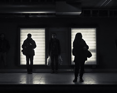 the threesome (album cover) (stephane (montreal)) Tags: street people station underground subway de photography photographie metro montreal rue uqam berri stephane urbaine paquet