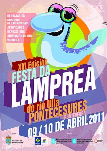 Pontecesures 2011 - Festa da lamprea - cartel