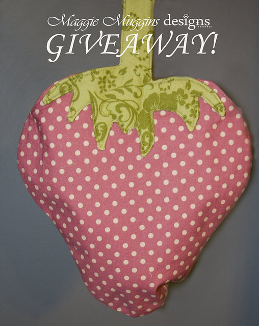 Strawberry Tote GIVEAWAY