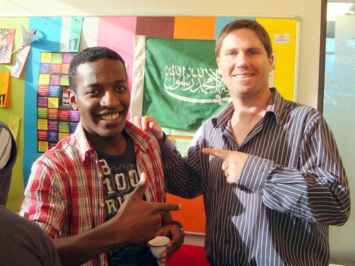 Languages International Christchurch Student & Teacher
