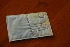 Iron Craft - Fabric Postcard