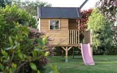 La cabane dans le jardin, ce matin de printemps - 6 avril 2011