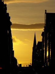 Sunset along St Vincent Street, Glasgow (shotlandka) Tags: road street sunset silhouette evening glasgow finepix fujifilm    stvincentstreet   s1000fd 100commentgroup mygearandme mygearandmepremium  mygearandmesilver mygearandmegold mygearandmeplatinum mygearandmediamond ringexcellence