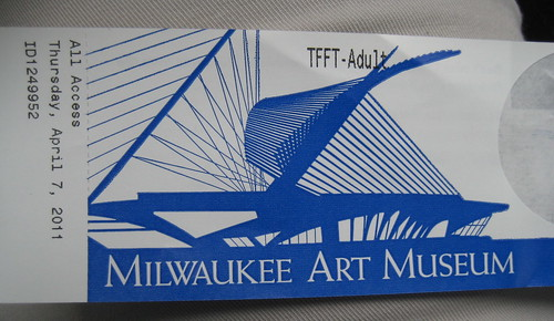 Milwaukee Art Museum ticket