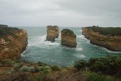 Limestone rock stacks (Jenelopy) Tags: ocean coast australia victoria coastal limestone vic greatoceanroad 12apostles seastacks portcampbellnationalpark rockstacks ozholiday10