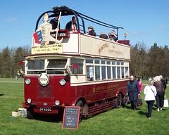 "Hastings trolleybus ""Happy Harold"" at Detling for M&D100 (Tom Burnham) Tags: uk bus kent preserved trolleybus detling md100"