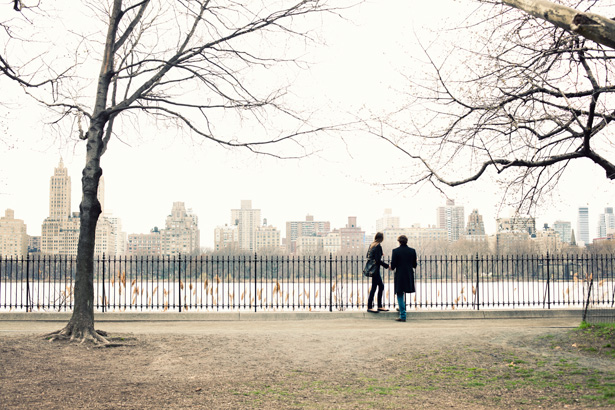 and at the end of the day, walking back home, I found some lovers in Central Park enjoying the view and what a view, so I enjoyed it too.