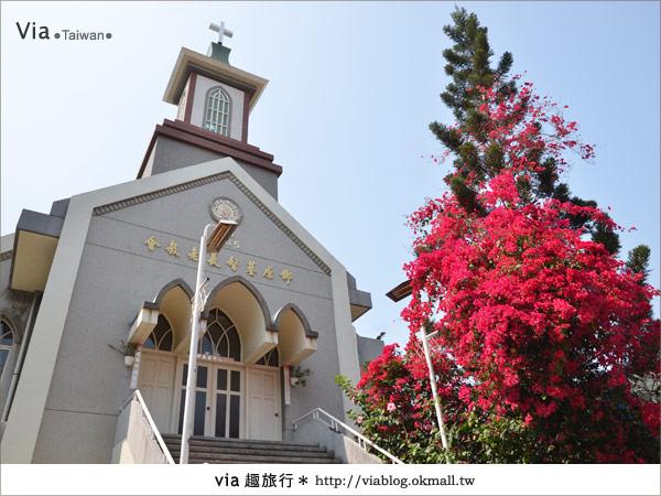 【台中景點】柳原教堂~百年歷史風華教堂,新人婚拍最愛!13