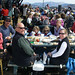 Lunchtime on the mid-mountain deck at Whiteface. Photo: John Sherman, Barneveld NY.