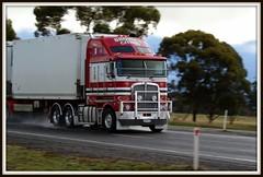 Kenworth K200 stretchcab... (quarterdeck888) Tags: trucks kenworth k200 bdouble brownscitrus bigcab stretchcab worldtruck jerilderietruckphotos jerilderietrucks