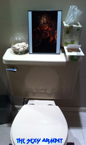 Vigo on My Toilet