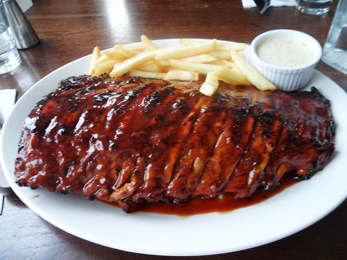 Hurricane's Huge Full Rack Pork Ribs