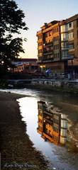 reflejo (Luis Diaz Devesa) Tags: españa reflection water rio river spain agua europa edificio galicia galiza reflejo pontevedra vilagarciadearousa villagarciadearosa mygearandme luisdiazdevesa