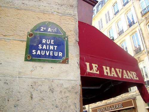 Rue Saint Sauveur, Paris